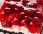 Oreo Cherry Cheesecake Bars
