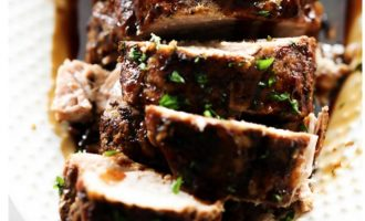 This Slow Cooker Balsamic Glazed Pork Tenderloin Will Be a Family Favorite With One Bite