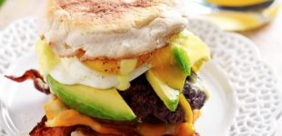 This Smashed Brunch Burger Might Just Make Us All Want To Eat Brunch More Often