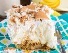 Don't Bake – Make These Easy Banana Cream Bars Instead!