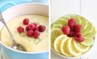 Lemon Lime Pudding With a Surprise Twist- It's Baked
