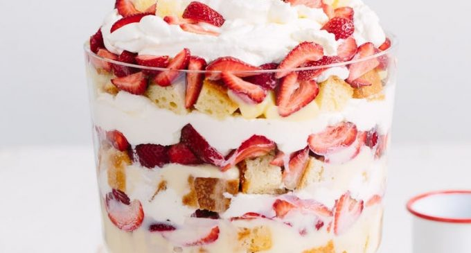 This Is the Best Strawberry Trifle We've Ever Tasted