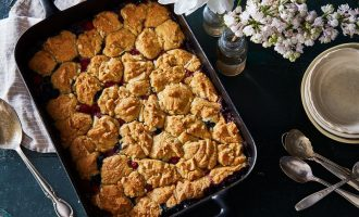 This Berry Cobbler Has a Surprising Topping That Makes It Even Better