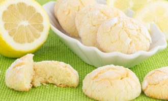 These Lemon Drop Cookies Have a Rather Unconventional Topping