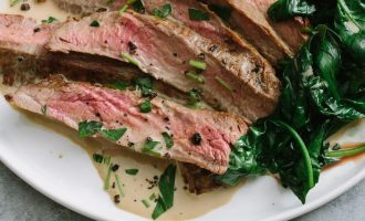 Dress Up Steak With This 3-Ingredient Sauce