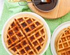 Homemade MultiGrain Waffles for the Sweet (or Savory) Side of Breakfast