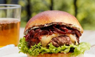 Be Grillmaster Royalty With This Steakburger