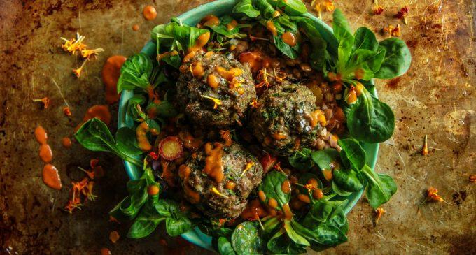 Garlic Spiced Lamb Meatballs