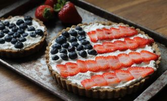 This Berry Tart Makes a Patriotic Statement!