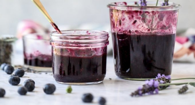 This Blueberry Jam Has a Couple of Surprising Ingredients That Make It Really Delicious