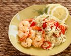 Shrimp Lovers Will Adore This Shrimp, Orzo, Olive and Tomato Dish