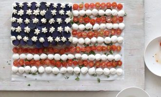 Celebrate July 4 With American Flag-Themed Salad