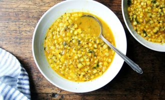 Make This Savory Corn Soup In 4 Simple Steps