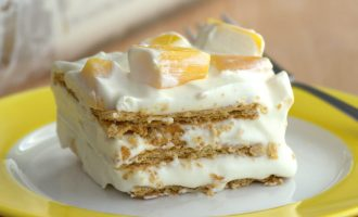 Cool Off With This Refreshing Mango Royale Icebox Cake