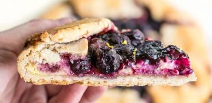 This Lemon Blueberry Cream Cheese Galette is the Best Dessert I've Had This Week