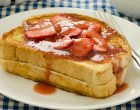 Make Mornings Extra Special With This Stuffed Strawberry French Toast