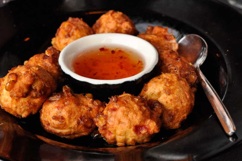 These Crispy Corn Fritters Have Just a Bit of Spice ...