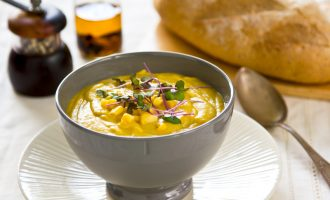 This Curried Corn Soup Is a Spicy Version of Our Favorite Comfort Food