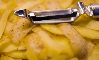Don't Toss Those Potato Peels…Roast Them Instead!