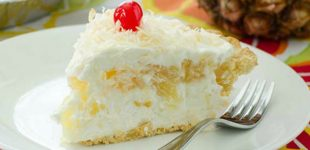 This Pina Colada Pie is Downright Heavenly!