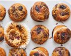 Sour Cherry Chocolate Chip Muffins