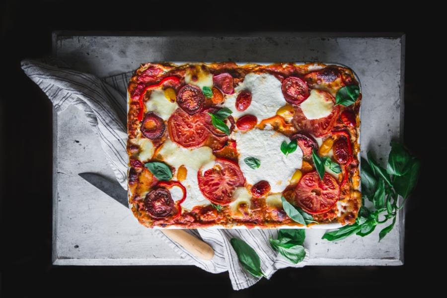Sweet Easy Bell Pepper Lasagna Recipe Station