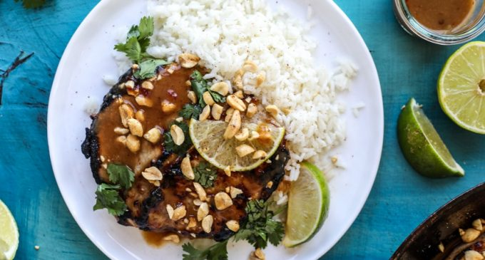 These Pork Chops Have An Amazing Thai Seasoning