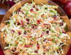 Flavors of Fall: Apple, Cranberry & Almond Coleslaw