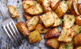 These Roasted Dijon Potatoes Require Just 3 Ingredients