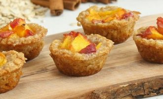 These Peach Cobbler Cups Are a Tasty New Spin on an Old Favorite