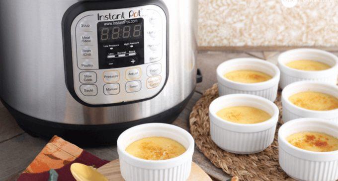 Slow Cooker Creme Brûlée