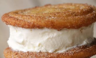 Churro Ice Cream Sandwiches Are Something Everyone Needs In Their Life