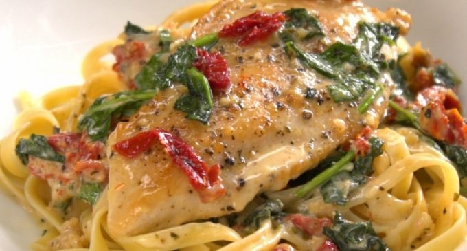 The Tuscan Chicken Recipe Everyone's Been Waiting For