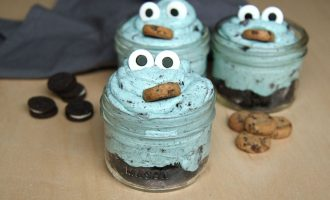 Cookie Monster Mini Trifles Will Awaken The Kid In Everyone