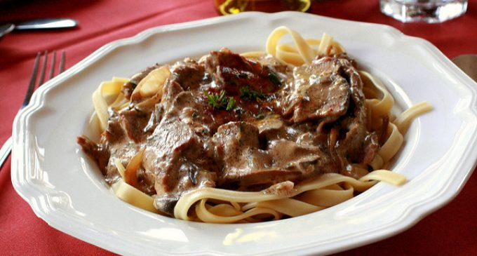 This Award Winning 5 Ingredient Beef Stroganoff Will Wow Any Crowd
