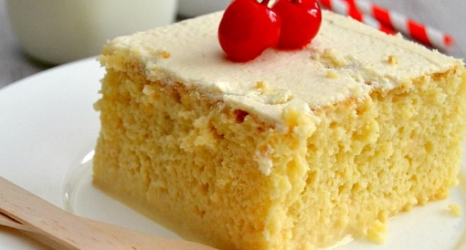 Hands Down The Best Tres Leches Cake Ever