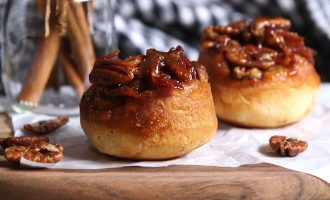 Maple Pecan Sticky Buns…With A Twist!