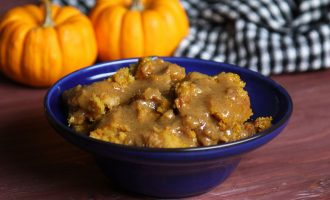 A Slow Cooker Pumpkin Bread Pudding That Is The Taste Of Fall