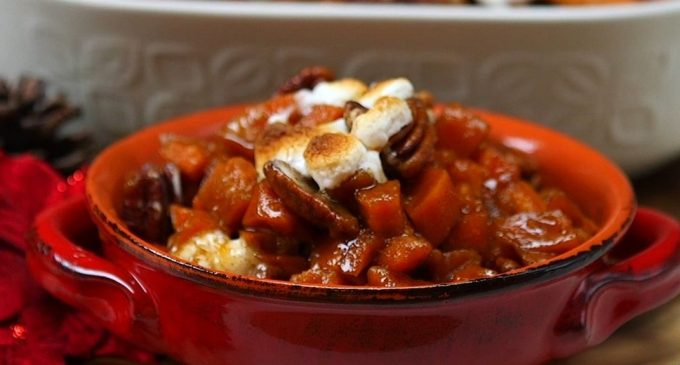 This Slow Cooker Sweet Potato Casserole Will Make Thanksgiving a Breeze