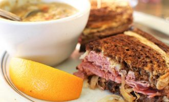 This Reuben Sandwich Is A Delicious Way To Enjoy Lunch In A Hurry