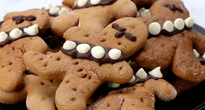 Gingerbread Wookie Cookies Just in Time For Star Wars