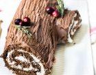A Christmas Yule Log That Takes The Cake