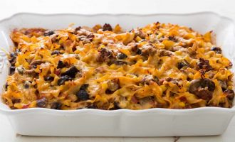 The Best Beef Noodle Casserole Ever