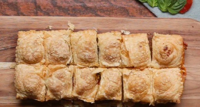 Super Simple Savory Pastry Pockets