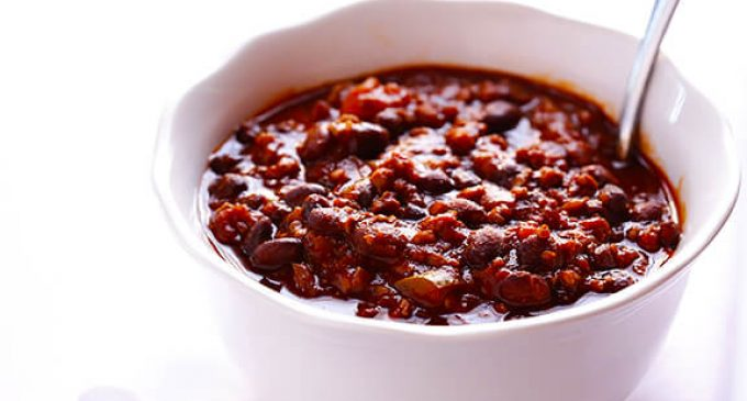 The Perfect 5 Ingredient Chili With Slow Cooker Option