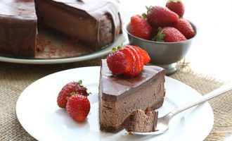 This Death By Chocolate Cheesecake Is Seriously Impressive