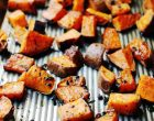 These Maple & Thyme Sweet Potatoes Will Take Dinner Up A Notch