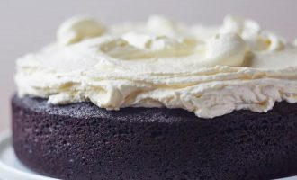 This Dark Chocolate Guinness Cake With Buttercream Frosting Is Perfect For St. Patrick's Day