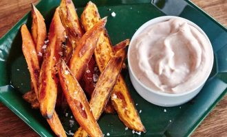 Have A Craving For Some Fries? These Sweet Potato Fries Will Hit The Spot Without The Calories!