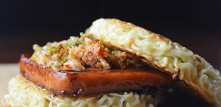 The Jury's Still Out On The Spam Ramen Burger